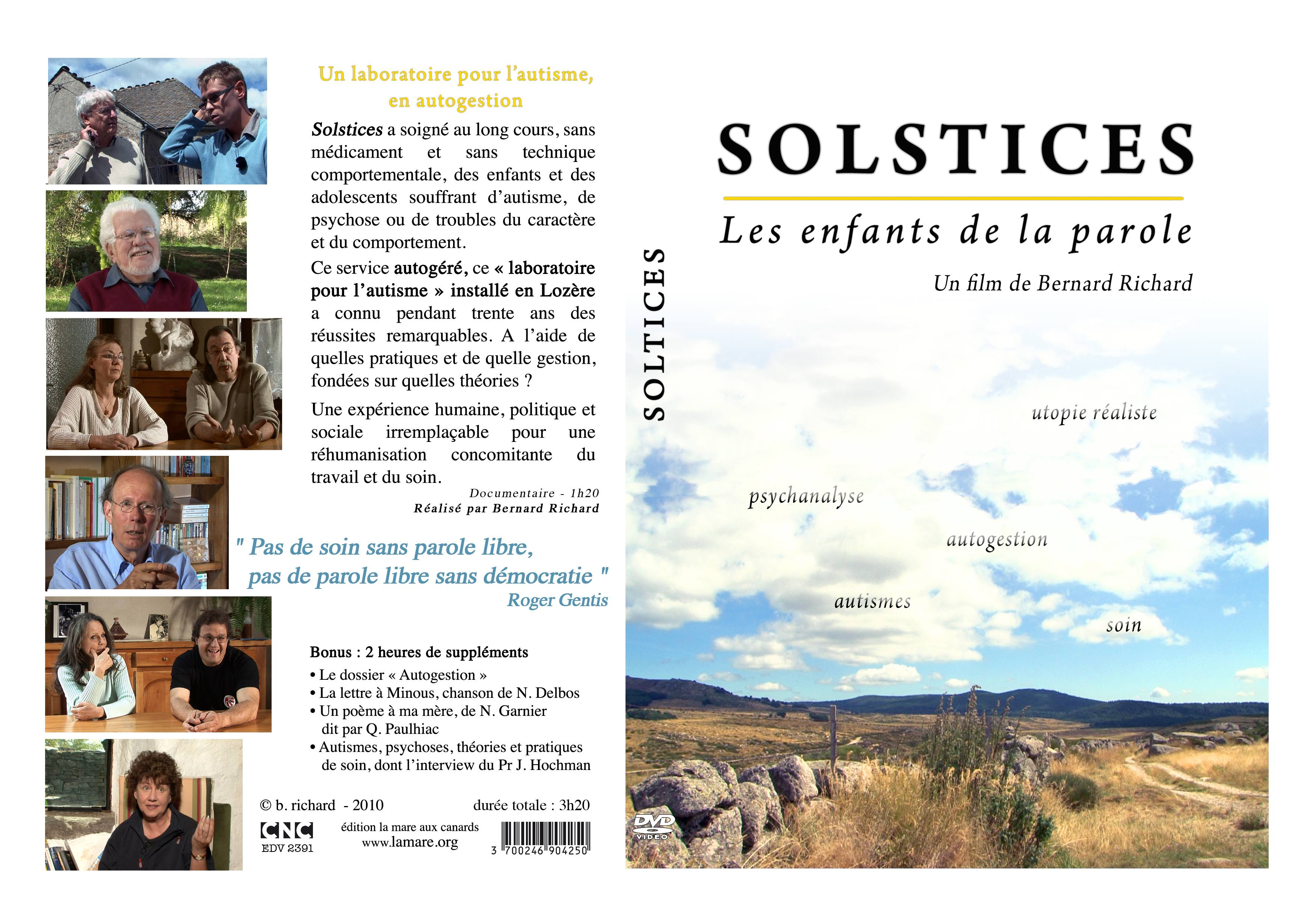 Solstices, un laboratoire de l'autisme en autogestion
