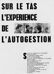 Syndicalisme hebdo, CFDT, juin 1968
