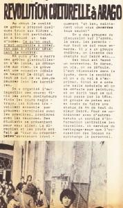 revolution culturelle Arago Entonnoir