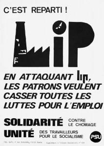 LIP affiche PSU