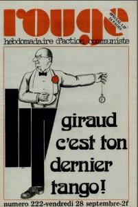 GIRAUD DERNIER TANGO