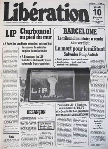 LIP, 29 janvier 1974, les accords de Dole