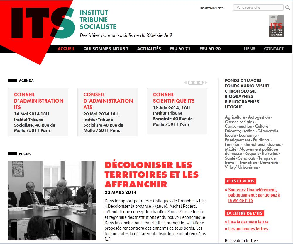 L'Institut Tribune Socialiste. Interview de Jacques Sauvageot.
