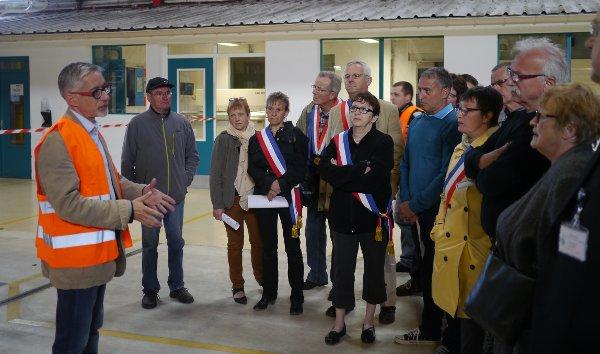 De nombreux maires des environs ont participé à cette journée portes ouvertes