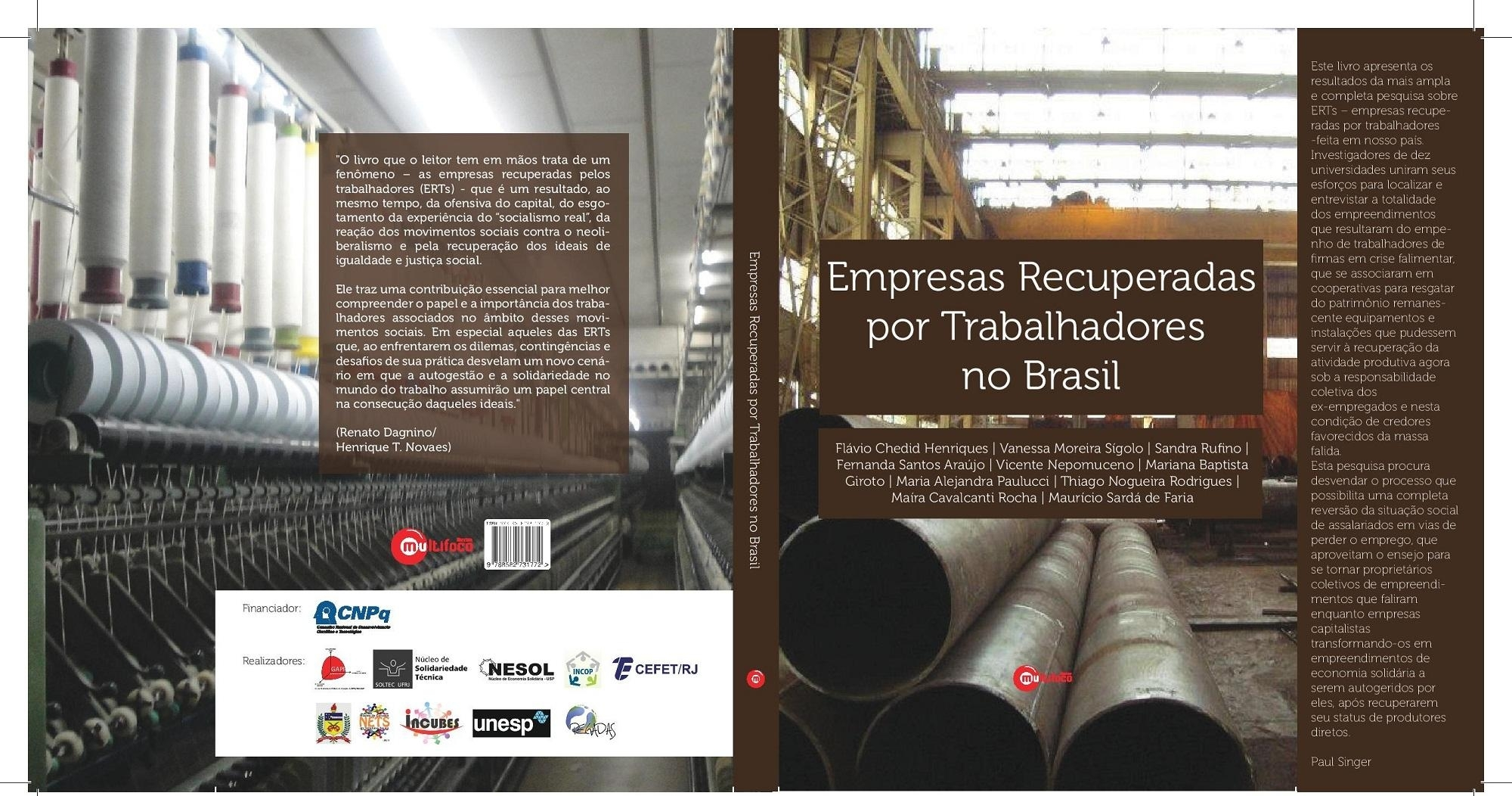 Les entreprises récupérées par les travailleurs au Brésil