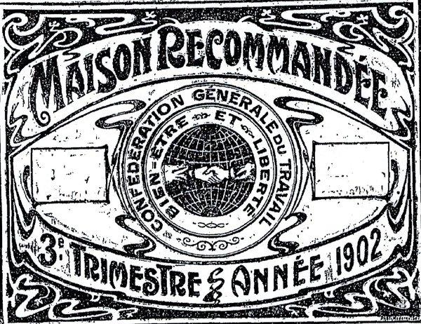 CGT 1900 : poussée autogestionnaire – la marque syndicale