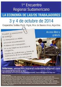 Premières rencontres régionales de « L'économie des travailleur-se-s » à Pigüé et à Mexico
