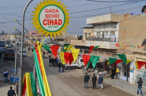 La ville de Qamişlo, en février 2012. © Firat News