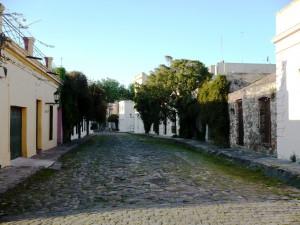 Rue du centre historique de Colonia del Sacramento