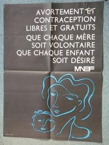 Affiche MNEF. Cité des mémoires étudiantes.