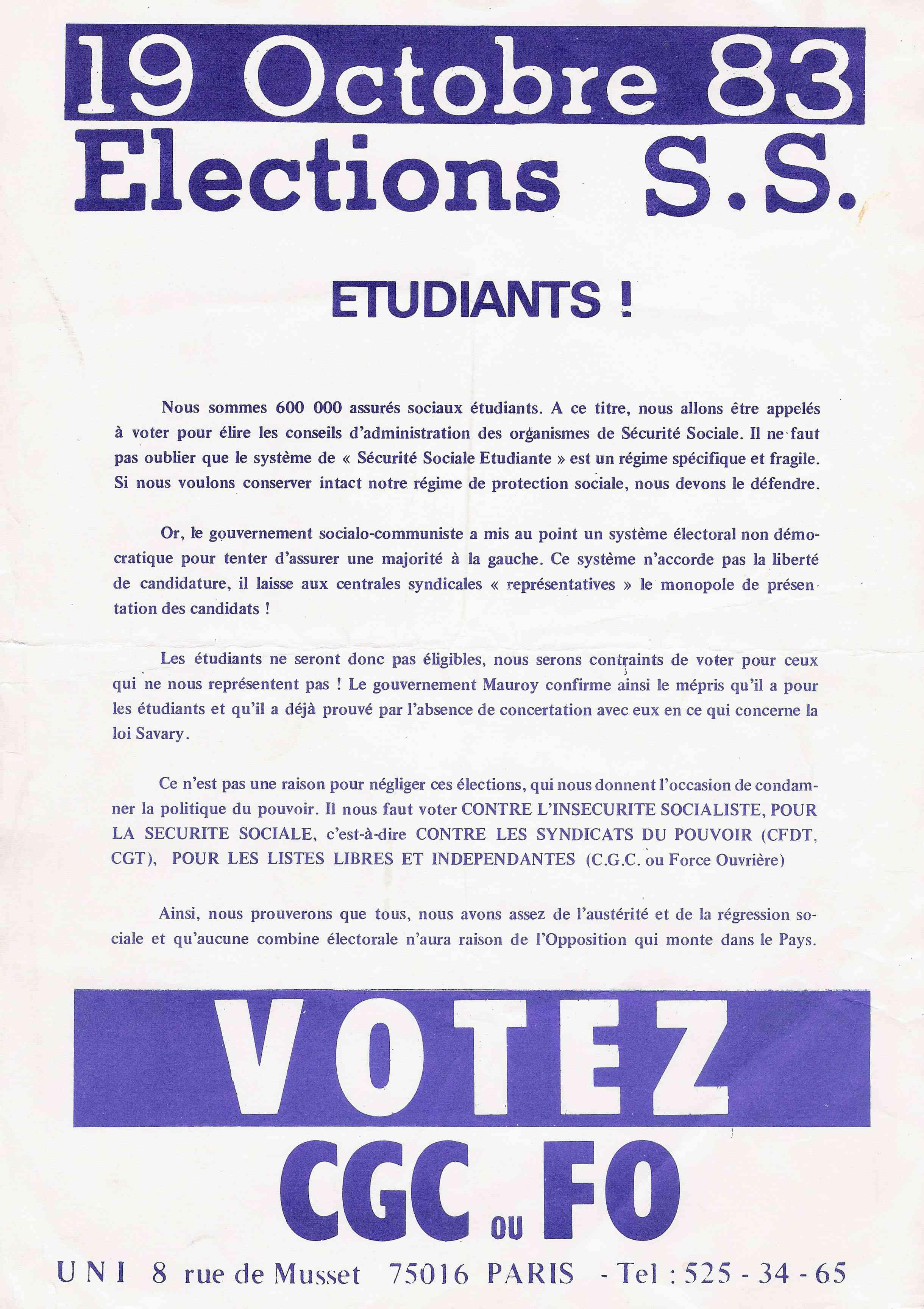 Les élections à la Sécurité sociale : une histoire ancienne
