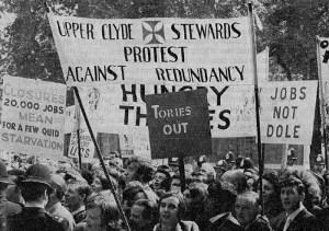1971: Grève active à la Clyde