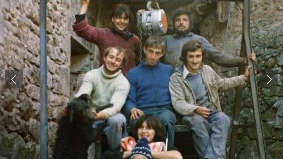 Les fondateurs en 1975