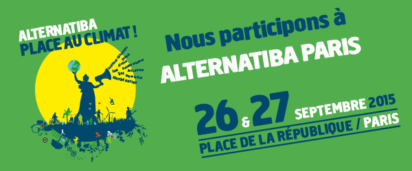 Alternatiba Paris 26/27 septembre 2015