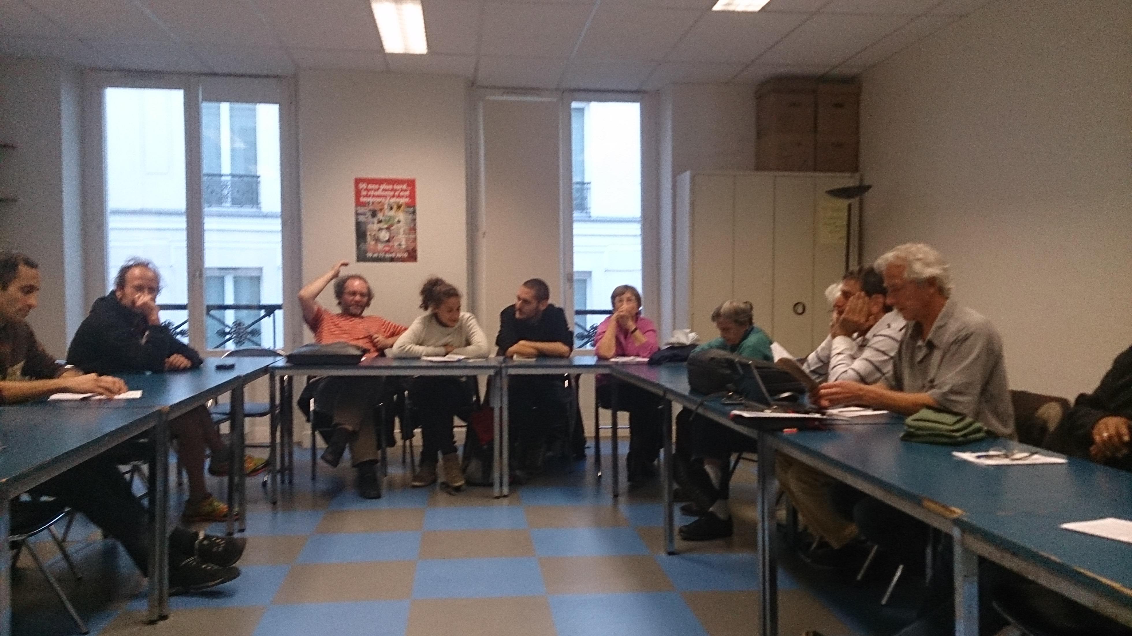 Rencontre internationale de l'économie des travailleurs : une première réunion de compte-rendu de l'AA