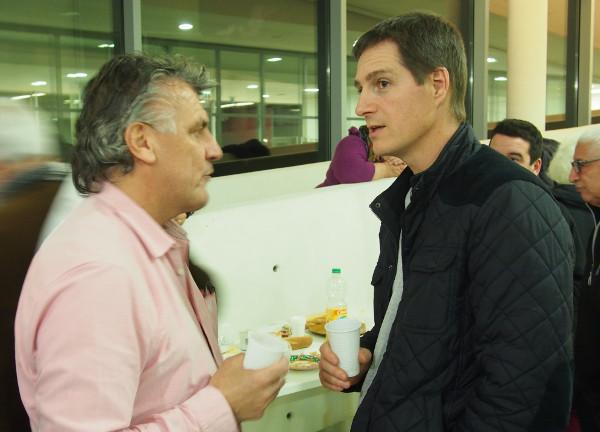 Olivier Leberquier, Scop-Ti en discussion avec Maxime Jarne, La Fabrique du Sud