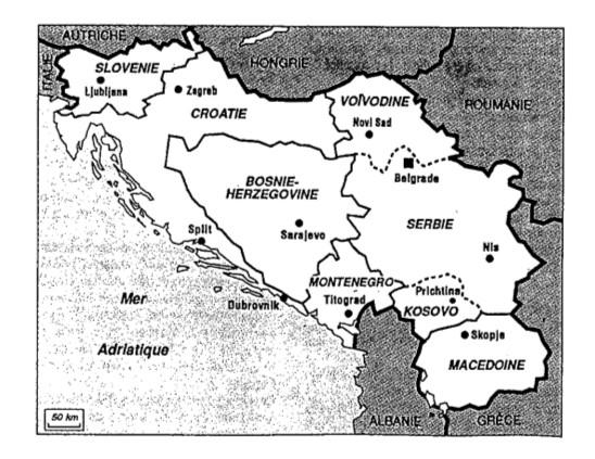 La Yougoslavie de 1945 à 1991