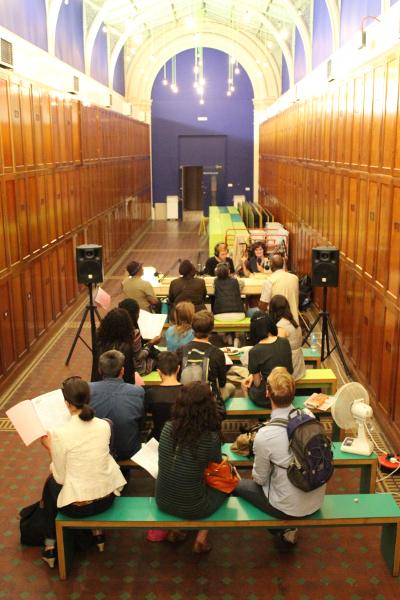 Parallel Radio au Victoria & Albert Museum, juin 2015. Photo : Open School East.