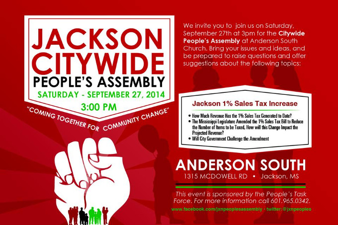 Un plan alternatif pour Jackson City (Mississippi)