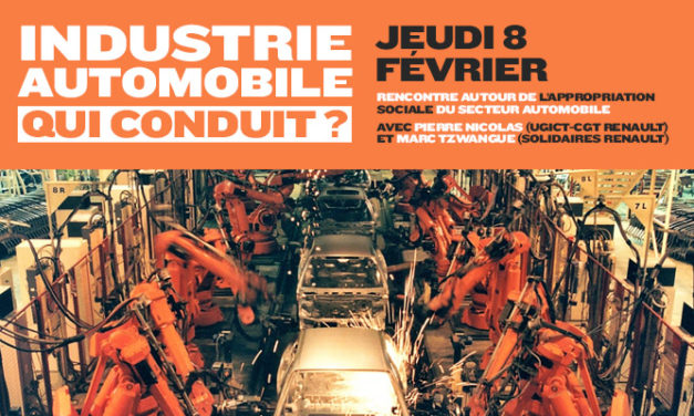 Automobile, qui conduit ? Compte-rendu du débat du 8 février 2018