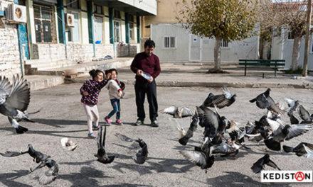 A Lavrio, un camp d'exilé.e.s kurdes auto-géré