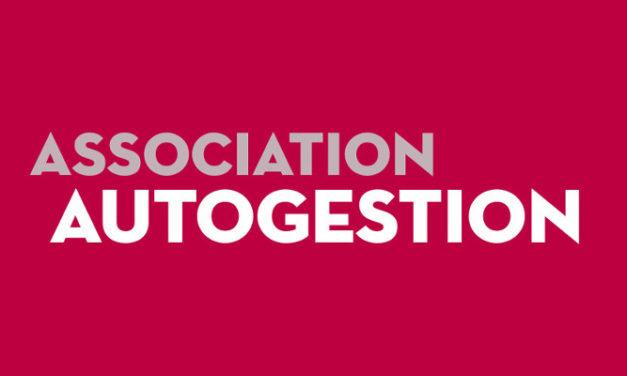 Samedi 8 septembre : Assemblée générale de l'Association Autogestion