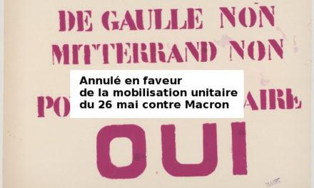 13 octobre 2018 : L'autogestion en mai et juin 1968 en France