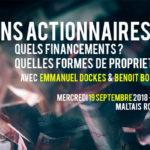 Sans actionnaires… Quels financements ? Quelles formes de propriété ? (Vidéo du 19 septembre)