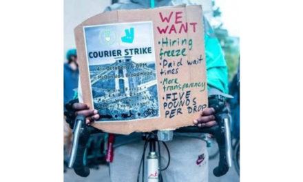 Rencontre des livreurs européens (25-26 octobre) : nous ne sommes rien, soyons tout !