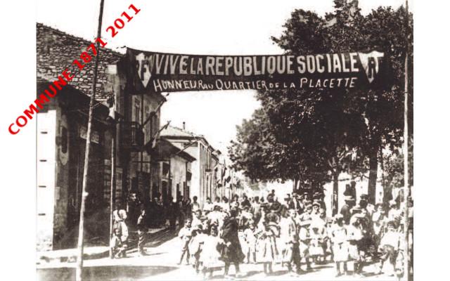 La Commune à Nîmes