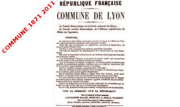 La Commune à Lyon, la Commune et Lyon