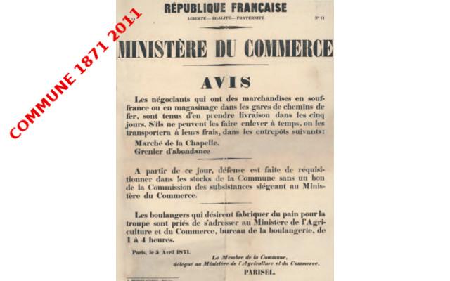 La Commune de Paris et les services publics