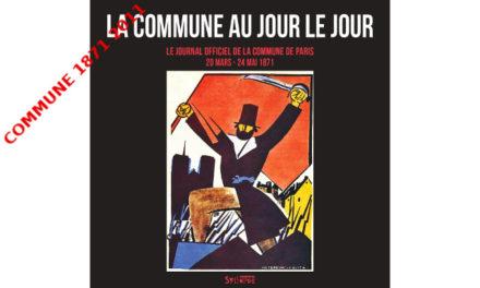 Le Journal officiel publié à Paris pendant la Commune de 1871