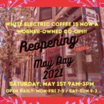 White Electric rouvre ses portes et devient le seul café coopératif du Rhode Island
